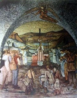 Nespeca cattedrale Ascoli messa al campo