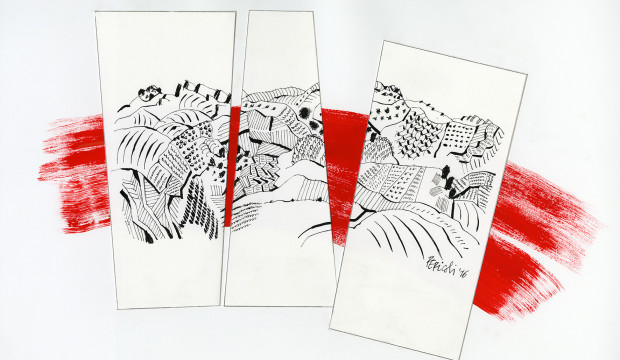 Tullio Pericolo Terre fragili - comunicato